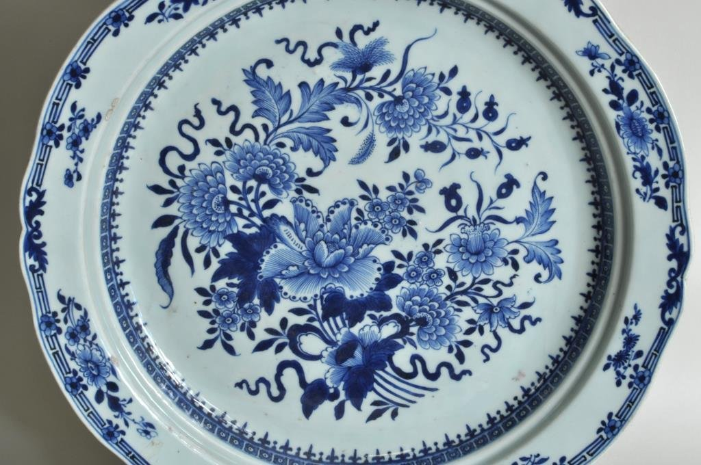 Chinese Export Porcelain Charger - 4