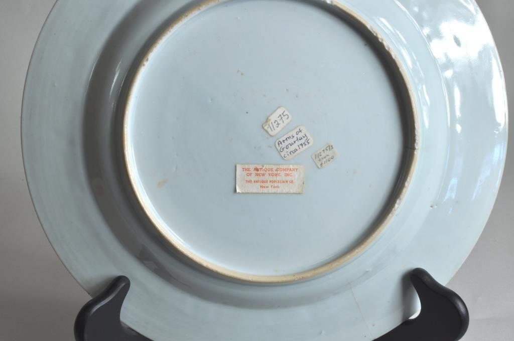 Chinese Export Famille Rose Armorial Charger - 3