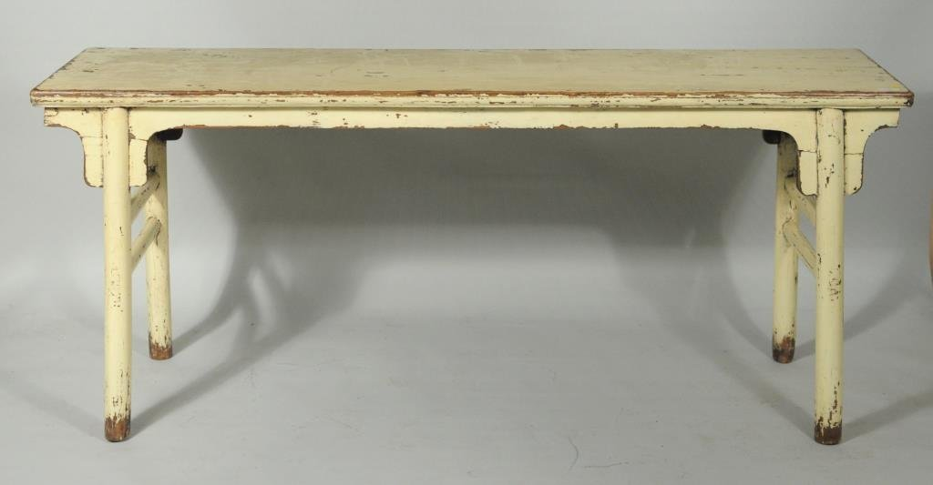 Chinese Wood Altar Table - 2