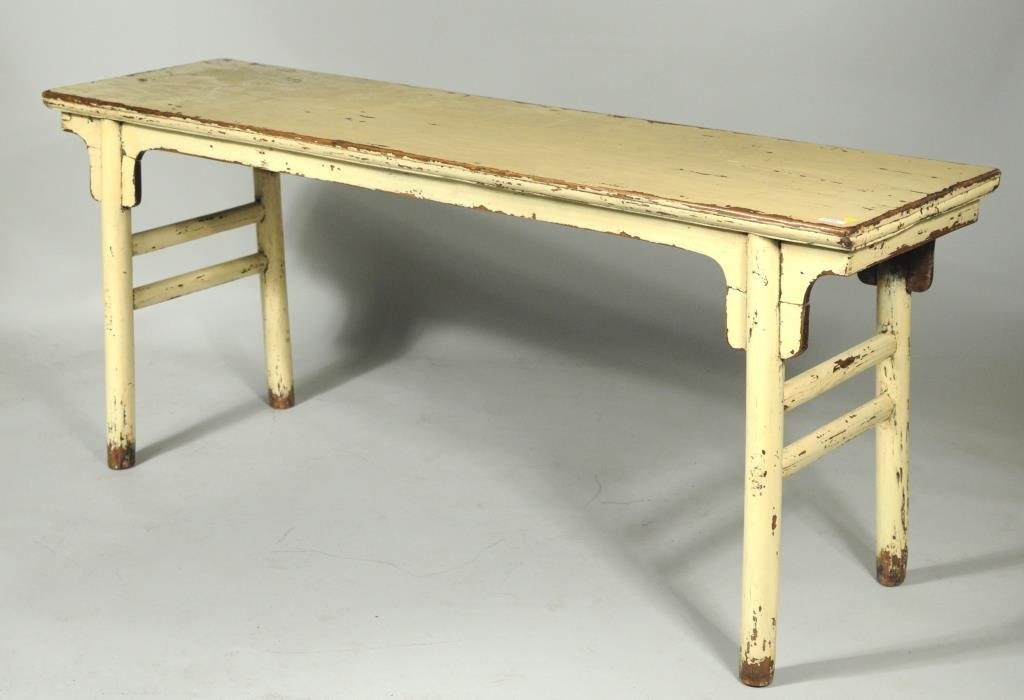 Chinese Wood Altar Table - 3