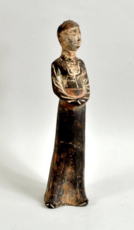 Chinese Pottery Tomb Figure, Possibly Tang Dynasty - 2