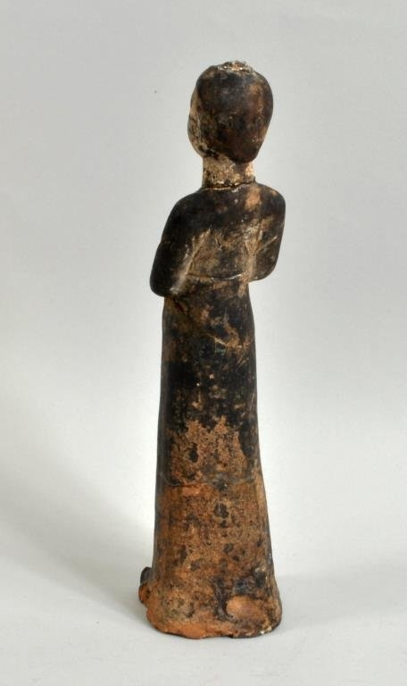 Chinese Pottery Tomb Figure, Possibly Tang Dynasty - 3