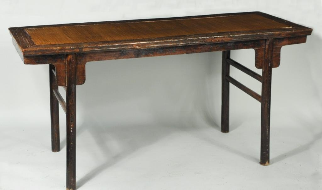 Chinese Recessed-Leg Painting Table, Pingtouan