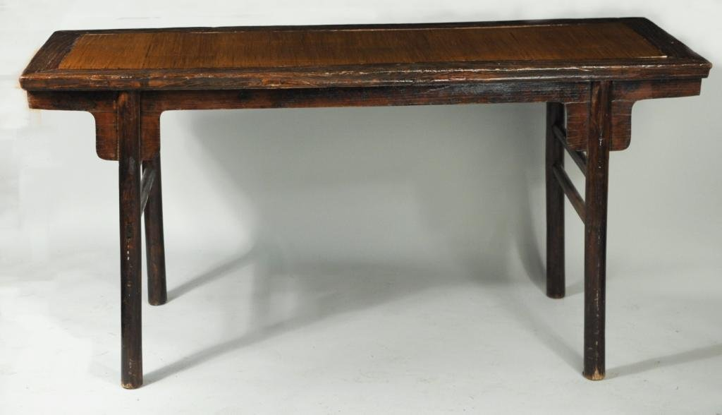 Chinese Recessed-Leg Painting Table, Pingtouan - 2