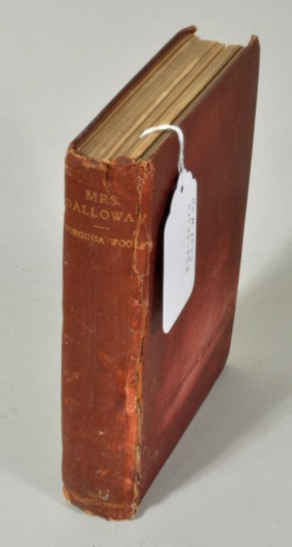 """""""Mrs. Dalloway"""", Virginia Woolf, First Edition"""