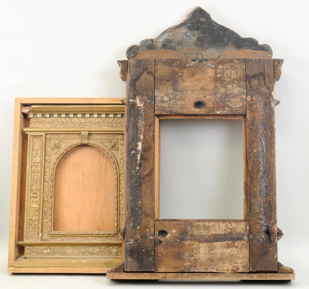 Two Continental Gilt Tabernacle Frames - 4