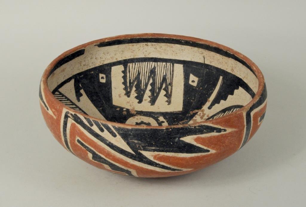 Prehistoric Tonto Pottery Bowl, Salado Culture