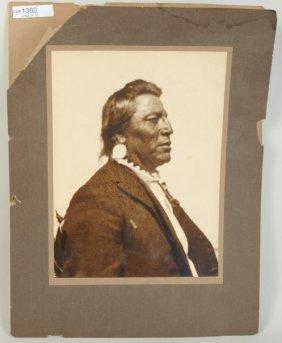"Vintage Photo ""Chief Two Guns White Calf"""