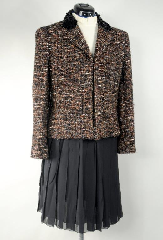 Chanel Cocktail Skirt Suit