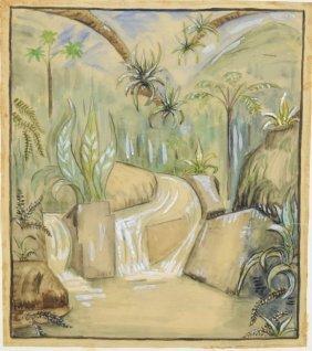 "Natalie Van Vleck""Tropical Landscape"""