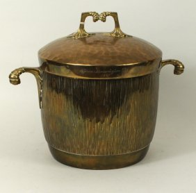 WMF German Brass Presentation Ice Bucket