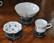 Three Chinese Porcelain Items