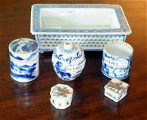 Group Six Chinese Porcelain Items