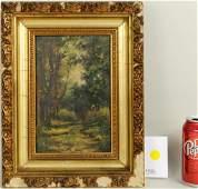 "Arthur Edward Blackmore ""Wooded Landscape"" O/P"