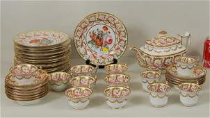 Darby Porcelain Hand Painted Partial Service