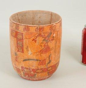 Pre-Columbian Mayan Classic Period Vase