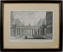 """Giovanni Battista Piranesi """"Prospetto D'Un' Regio"""