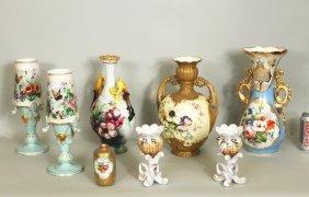 Group Of Porcelain Vases