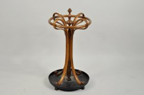 Possibly Thonet Bentwood Umbrella Stand