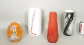 Group Four Modern Glass Items