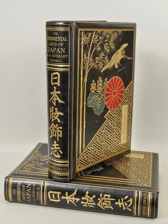 Ornamental Arts Of Japan By George Audsley 2 Vols.