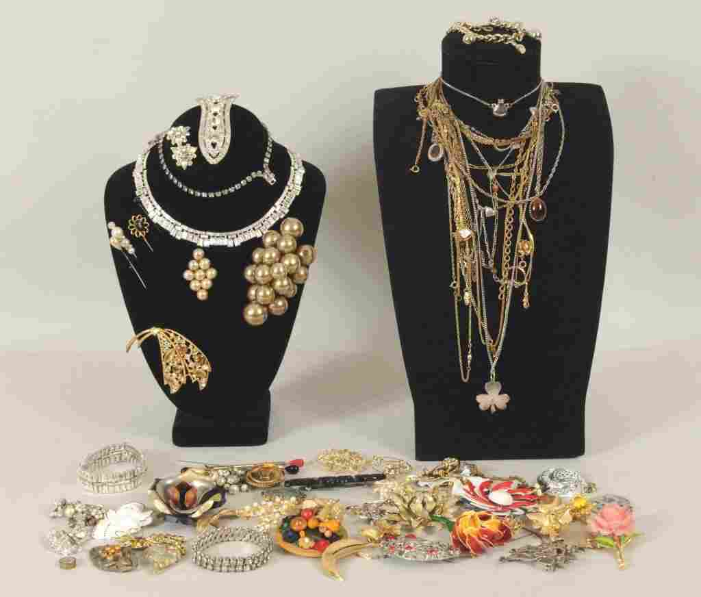 Large Group Costume Jewelry