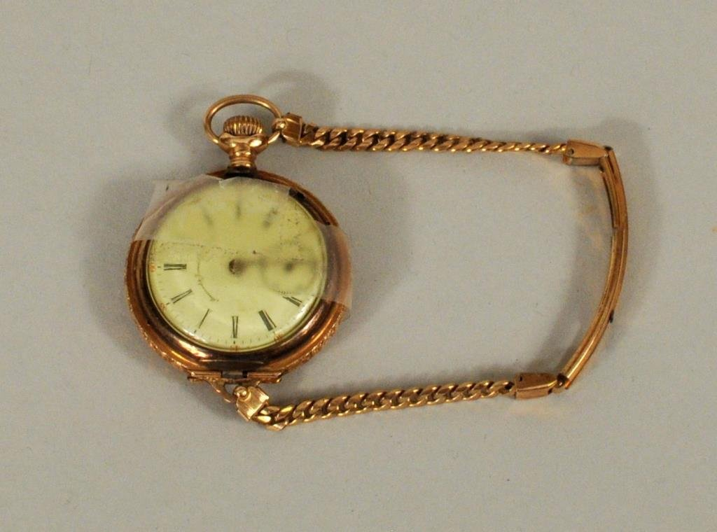 Miermod & Jaccard Jewelry Co.14K Gold Pocket Watch