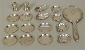 Group Fifteen Small Sterling Silver Items