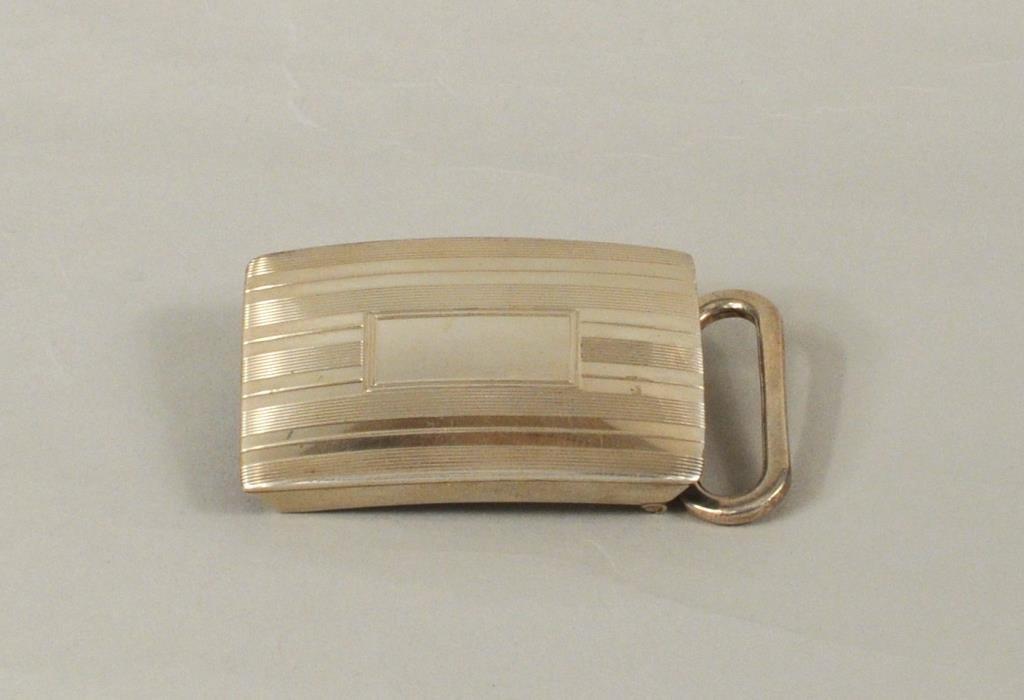 Tiffany & Co. Sterling Silver Belt Buckle