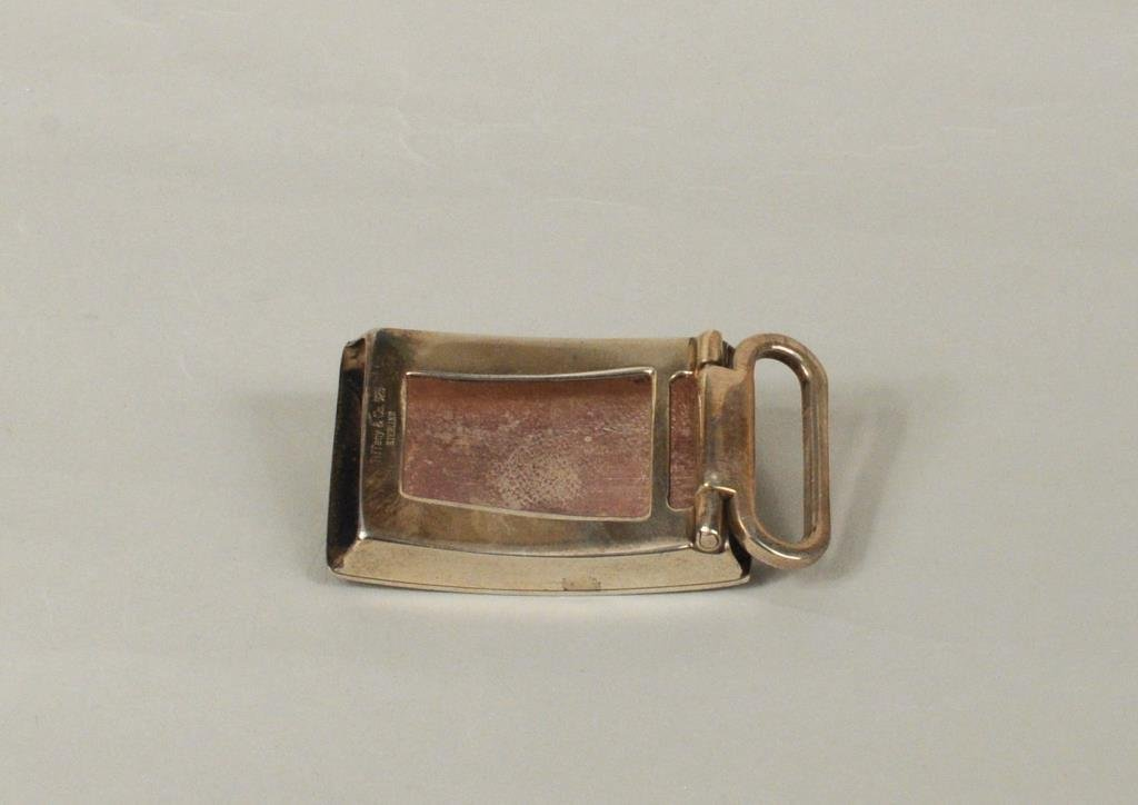 Tiffany & Co. Sterling Silver Belt Buckle - 2