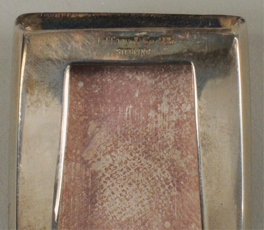 Tiffany & Co. Sterling Silver Belt Buckle - 3
