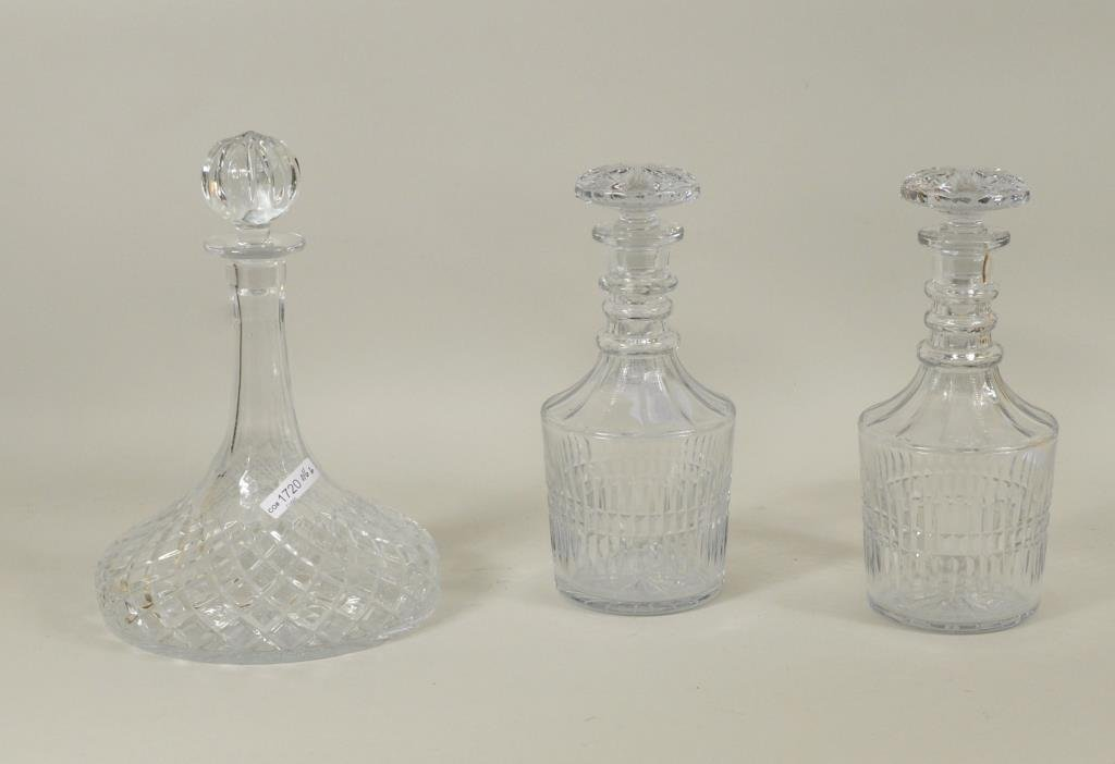 Group Cut and Pressed Glass - 4