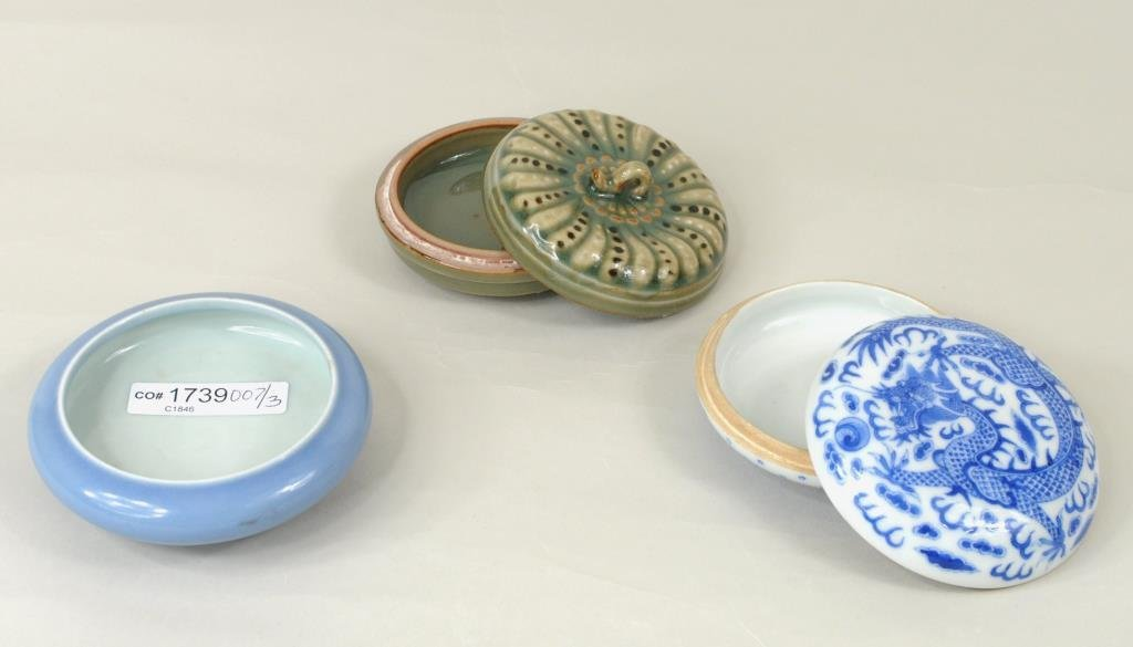 Three Small Chinese Porcelain Items - 2