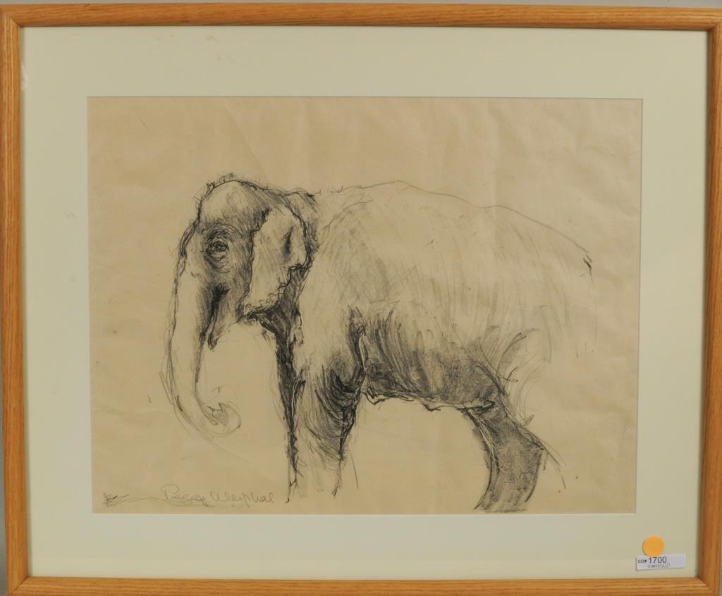 "P. Westphal ""Smiling Elephant"" P/C/P"