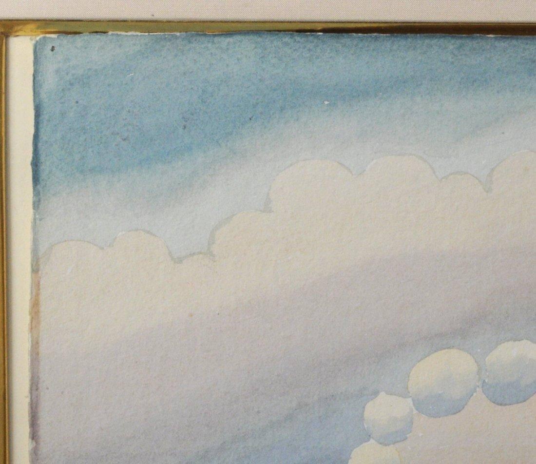 """Ivan Rabuzin """"Dawn"""" Watercolor - 3"""