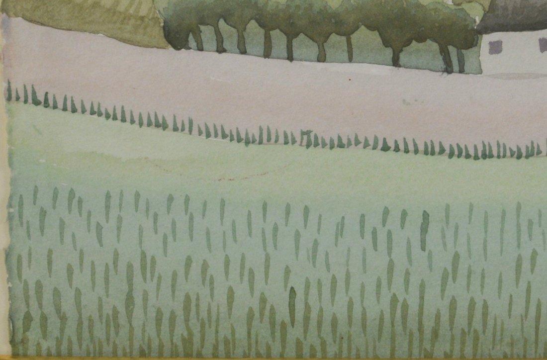 """Ivan Rabuzin """"Dawn"""" Watercolor - 5"""