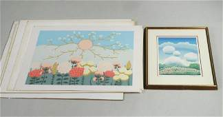 Group of Ivan Rabuzin Lithographs and Prints