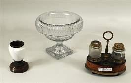 Group Three Estate Glass Items