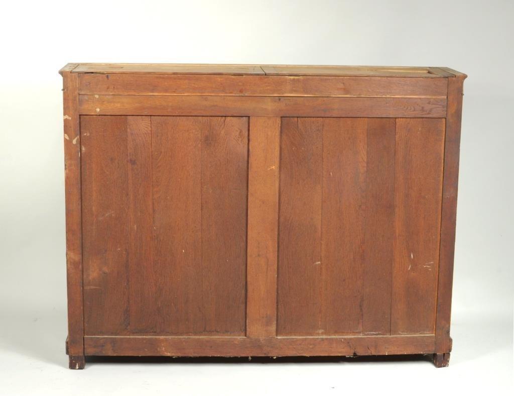 Regency Style Marble Top Side Cabinet - 3