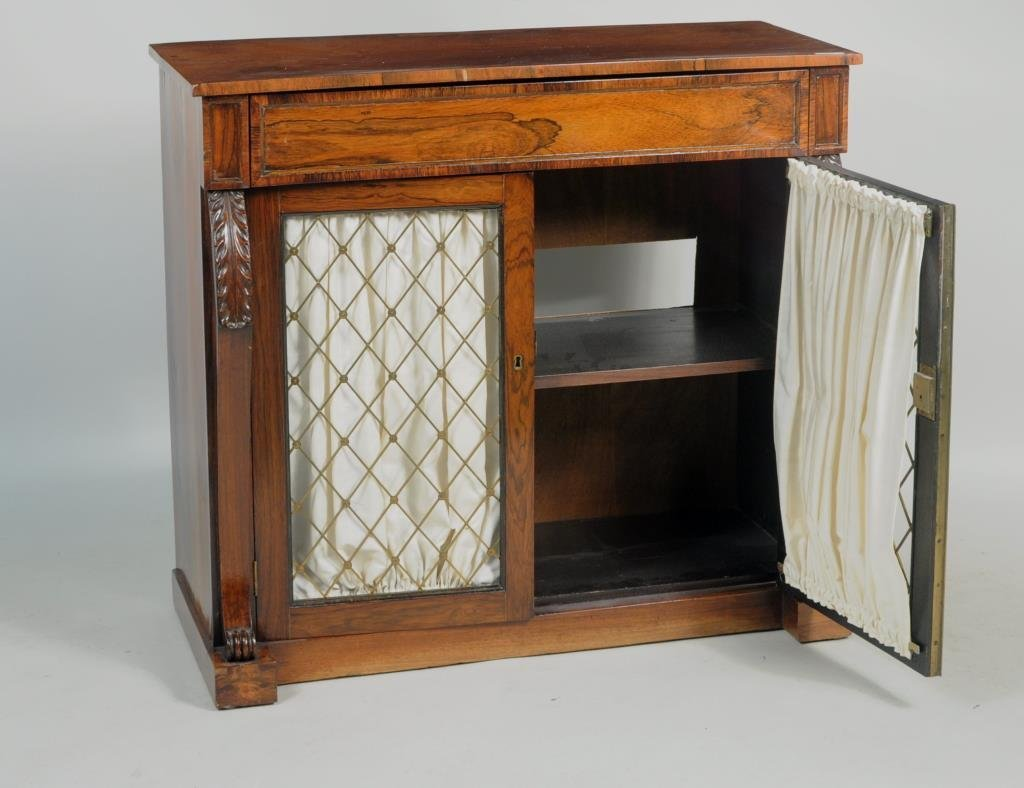 Regency Two Door Cabinet - 2