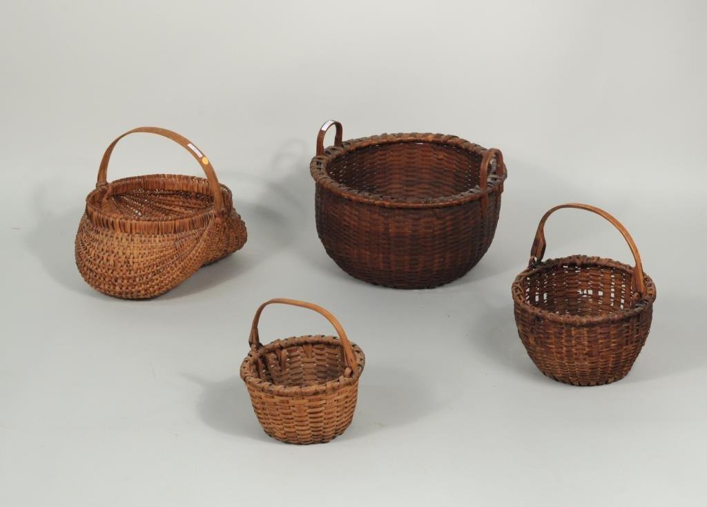 Group Four Splint Baskets