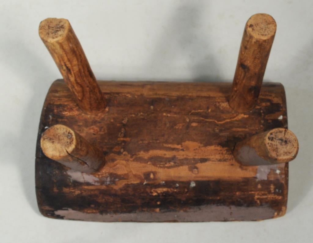 Rectangular Top Tavern Table, Late 18th Century - 4
