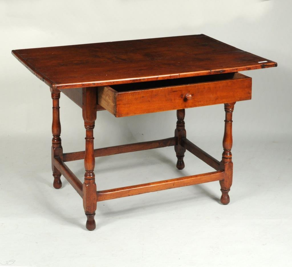 American Country Maple & Pine Tavern Table - 2
