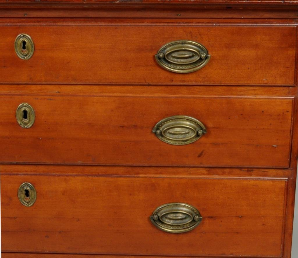 Connecticut Chippendale Cherry Chest - 5