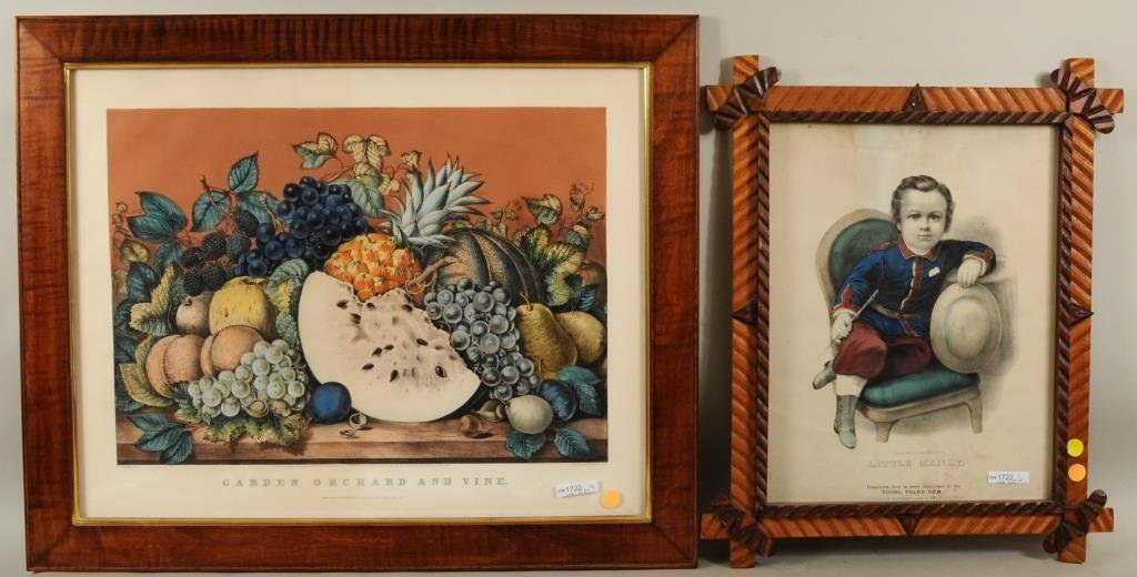 Two Currier & Ives Prints