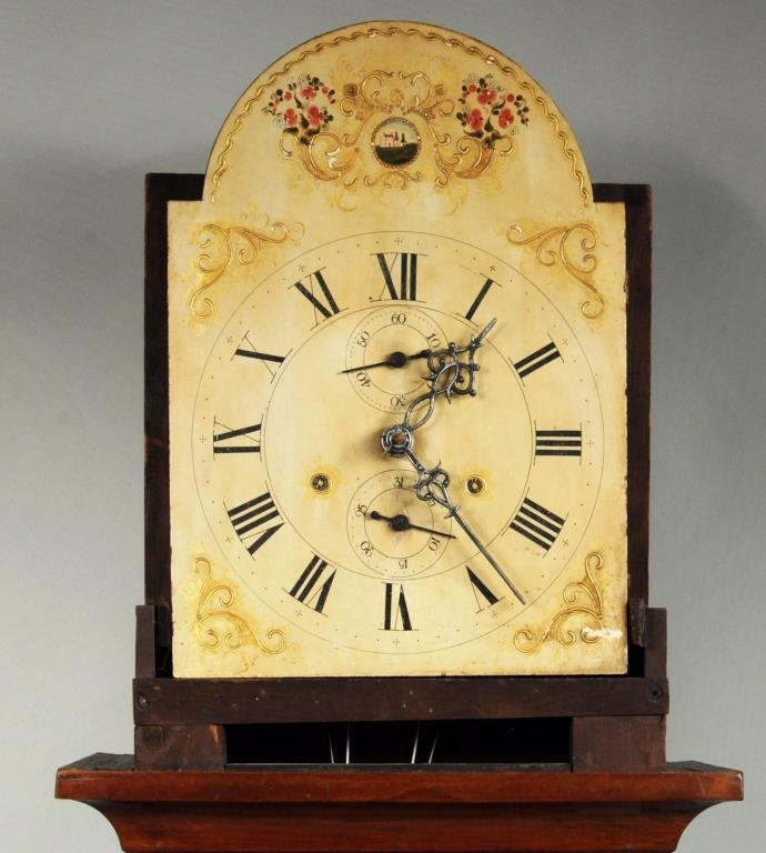 American Cherrywood Grandfather Clock - 2