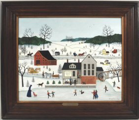 "Linda Nelson Stocks  ""Jacob's Mill"" O/C"