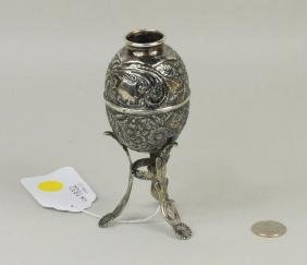 Spanish Colonial .900 Silver & Parcel Gilt Metate