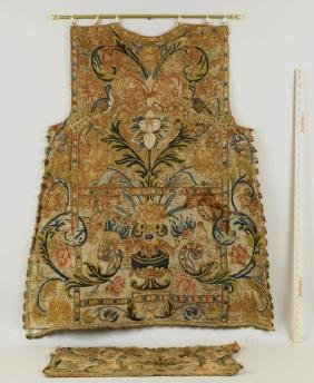 Early Embroidered Vestment Panel