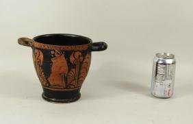 Early Greek Poss. Corinthian Pottery Skyphos Cup